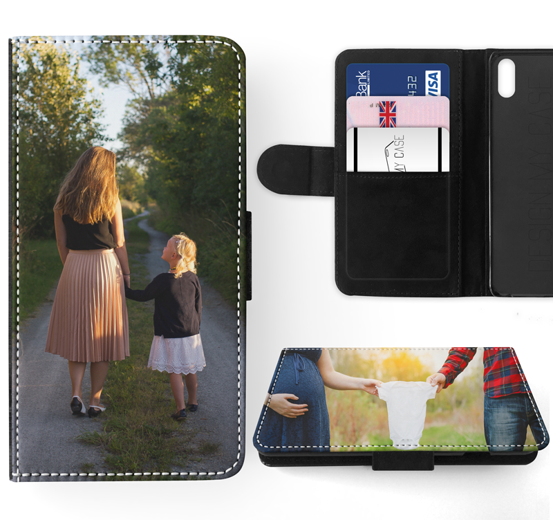 Personalised Flip Case for iPhone X